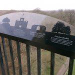 Ashridge Monument Perspex sign