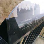 Ashridge Monument fabricated sign