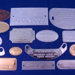 Embossed plaques