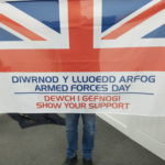 Impact Sign Solutions   Armed Forces Day Flag For Pole Full Colour Custom Bespoke Event Exhibition External Internal Long Lasting Hardwearing Quality