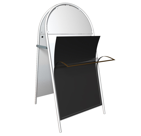 Poster holder screen