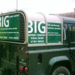 Van Graphics for Big Mower