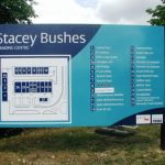 Aluminium Tray Panel   Digitally Printed Site Map