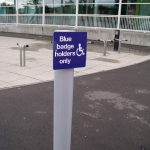 Traffic Signs   Blue Badge Holder Sign
