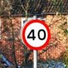 Traffic Signs  Class 2 Reflective Speed Sign