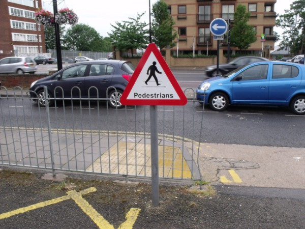 Traffic Signs  Pedestrians Warning Sign