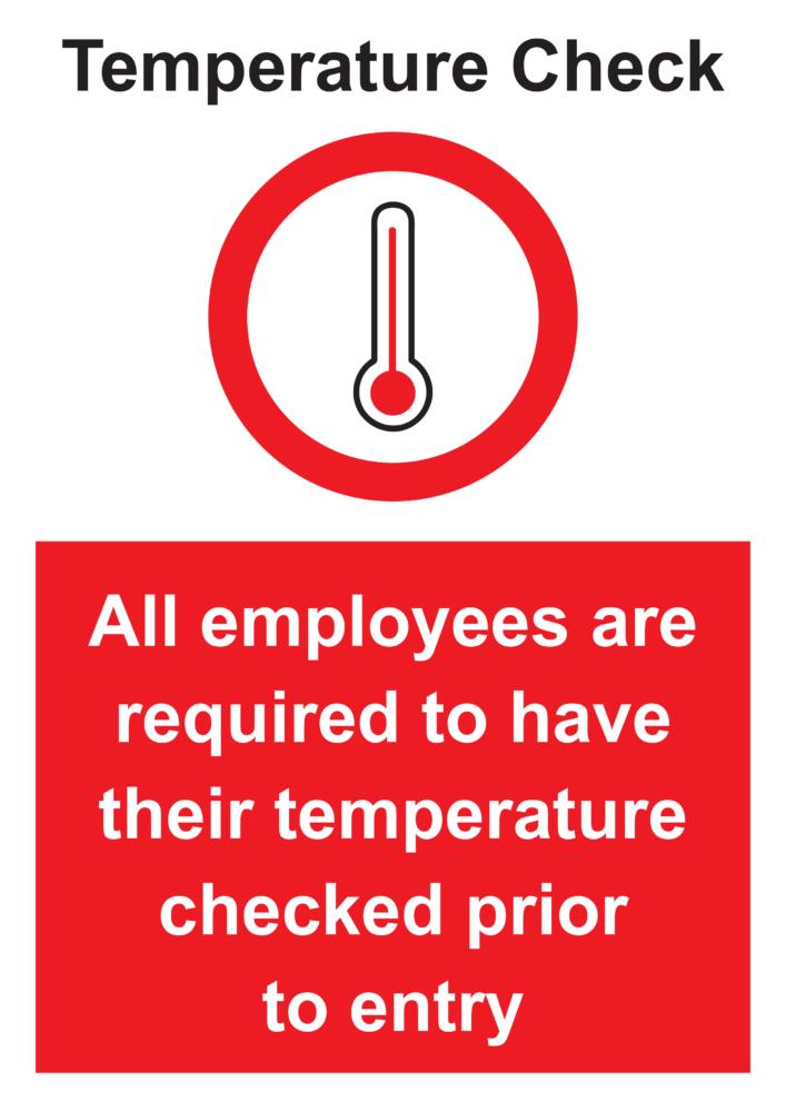 Tempoerature Check Poster