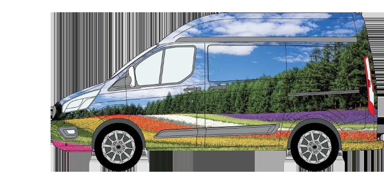 Transit SWB High Roof Van Wrap Smaller