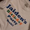 Bespoke Custom T Shirt Jumper Hoody Garments Birthdays Embroidered Printed Impact Signs