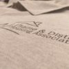 Embroidered Polo Tee Tshirt Workwear Uniform Clothing Smart Branding Logo   Impact Signs
