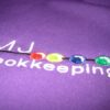 Fleece   Embroidered Full Colour Close Up MJB Impact Sign