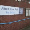 Banner Eyelets Wall Fixings Bungies External School Signage Full Col Premium - Impact Signs
