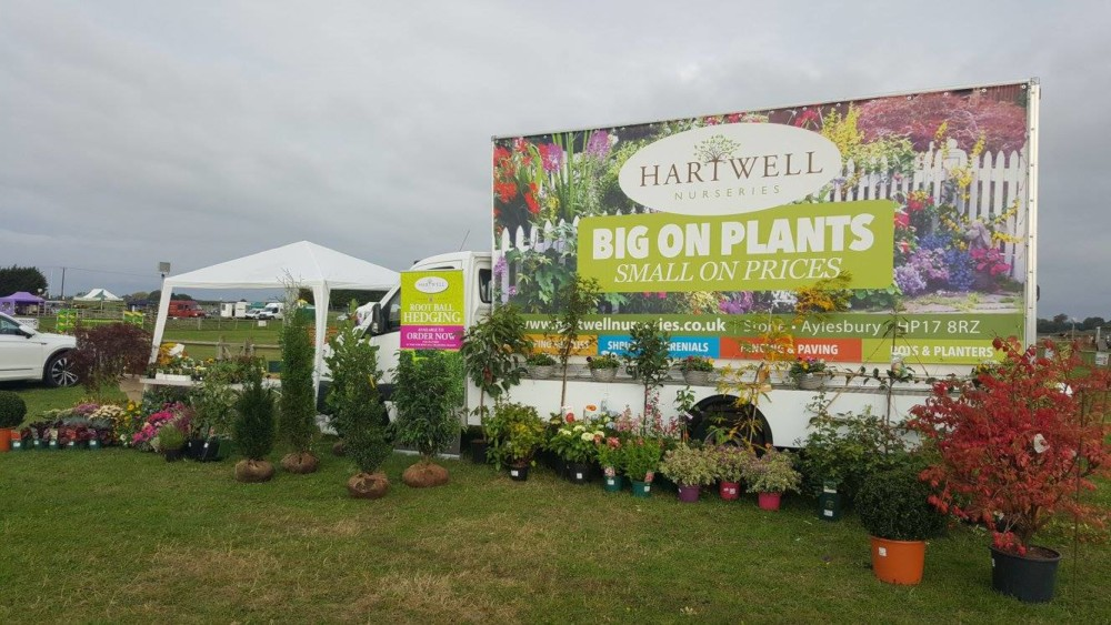 Garden centre banner Truck marketing Full Colour outdoor Heavy Duty Advertising Impact Signs Impact Signs