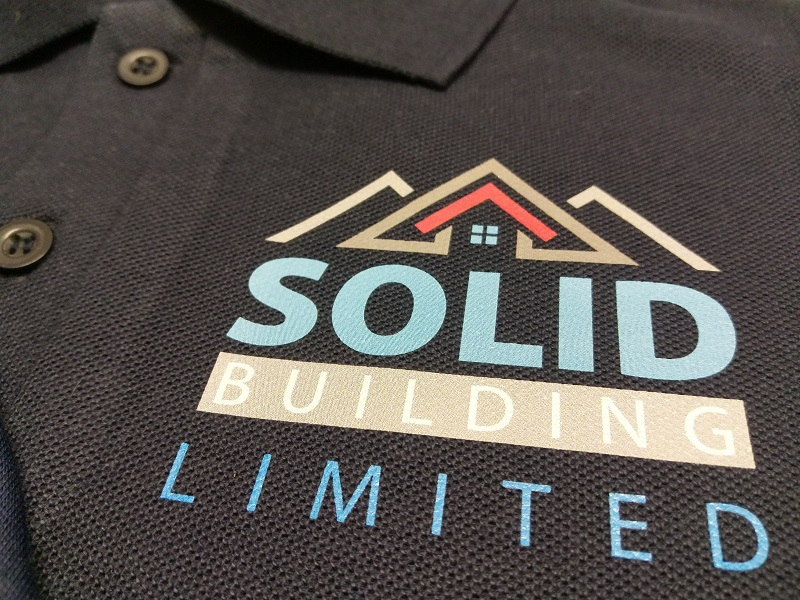 Printed Polo Shirt Impact Signs