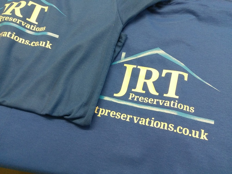 Printed Garments T Shirts Tees Workwear Uniform Company Branding Logo Impact Signs