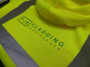 Yellow Hi Viz Hooded Jumpers Printed High Quality Uniform Workwear   Impact Signs