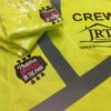 Yellow Hi Viz Waistcoats Printed Uniform Workwear Impact Signs