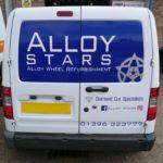 Alloy Star van graphics
