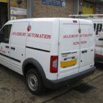 Aylesbury Automation van graphics
