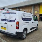 Aylesbury Fire Systems van graphics