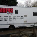 Chambers Racing die cut vinyl graphics