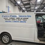 Curtis and Carder vinyl graphics