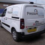 Pressure van logo graphics